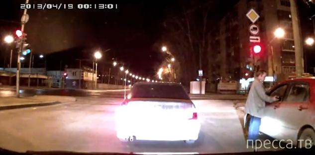 Вымогал деньги на дороге... ДТП в Екатеринбурге