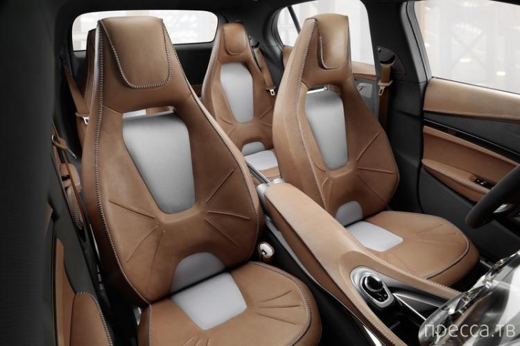 Mercedes-Benz GLA Concept с лазерными проекторами (11 фото)
