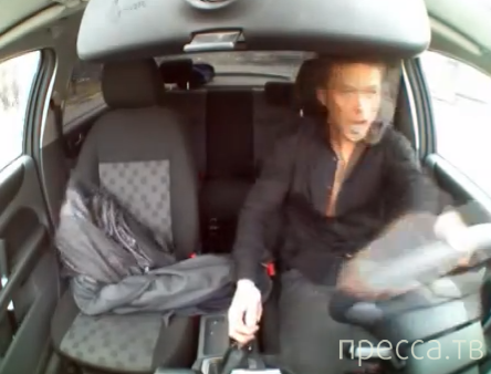 Наркоман угнал машину ГИБДД... Москва