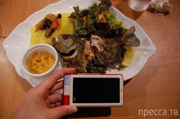 Жареная пиранья - деликатес для людей со слабым обонянием (8 фото)
