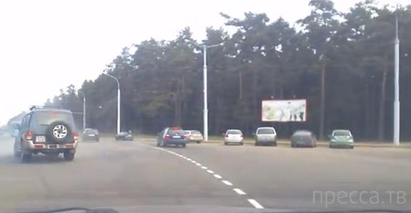 Разворот со второй полосы... ДТП в Минске