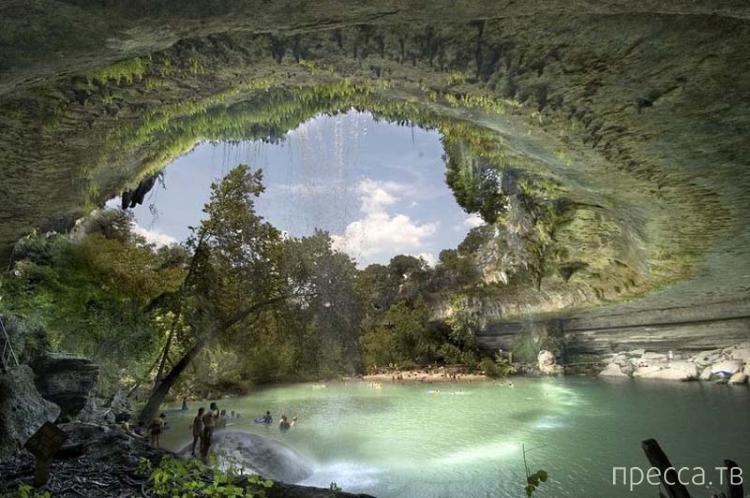 США, штат Техас. Удивительно-красивый заповедник Гамильтон (10 фото)