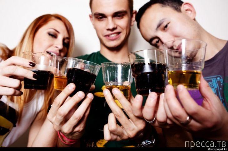Почему разные виды алкоголя оказывают разный опьяняющий эффект...
