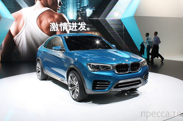 Новый BMW X4 (9 фото)