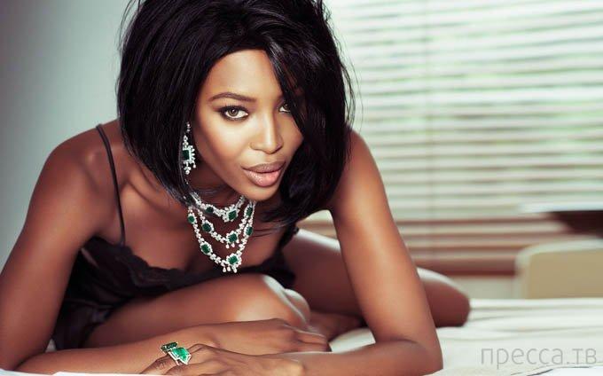 Наоми Кэмпбэлл в Vogue Brazil (7 фото)