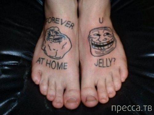 Самые дурацкие татуировки (20 фото)