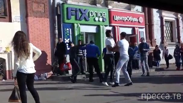 Разборки на Ярославском вокзале 8 мая 2013 года...