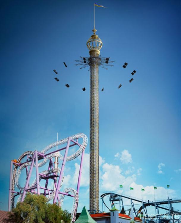 В Стокгольме открылась самая высокая карусель в мире ... (фото + видео)