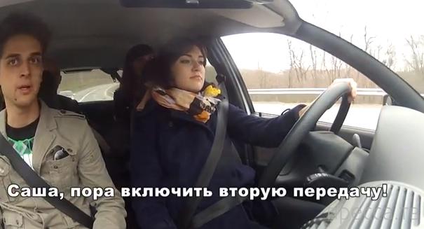 Американская порнозвезда Саша Грей приняла участие в автопробеге по России (3 фото + видео)