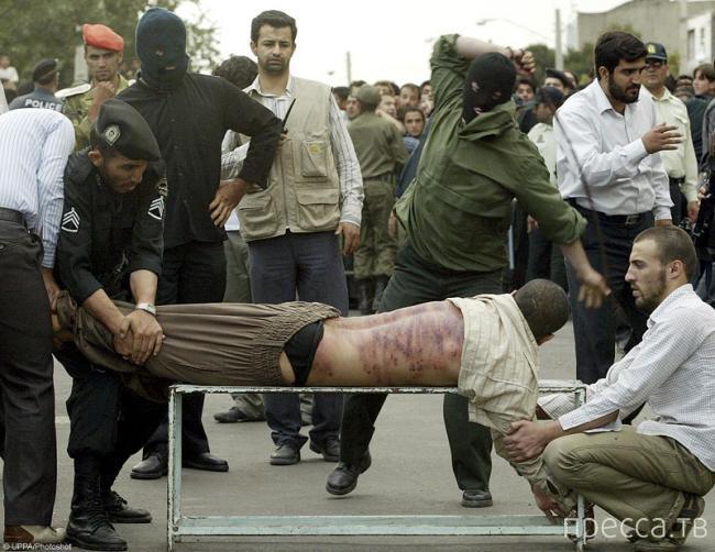 Преступление и наказание по-ирански (3 фото)