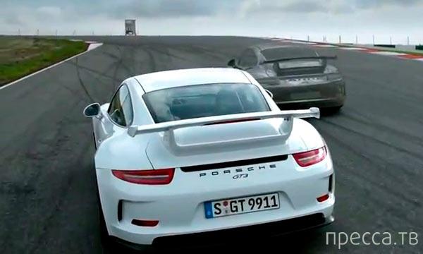 Porsche 911 GT3 на грани возможностей (фото + видео)