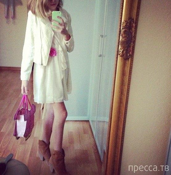 12-летняя дочь Веры Брежневой - Соня тусуется ночи напролет (5 фото)
