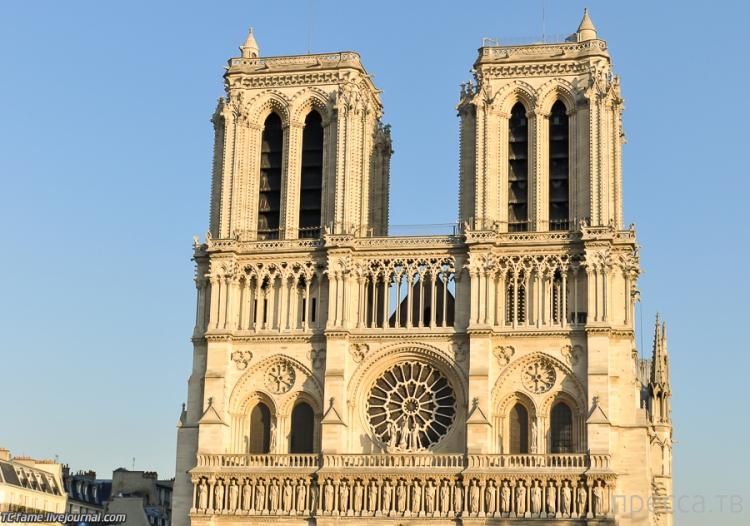 Франция, Париж. Нотр-Дам-де-Пари  (Собор Парижской Богоматери) (18 фото)