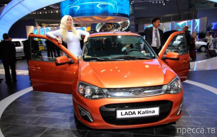 Лада Калина-2 запущена в производство (14 фото + видео)