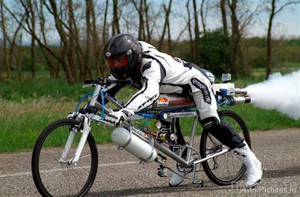 Самый быстрый велосипед (фото + 3 видео)