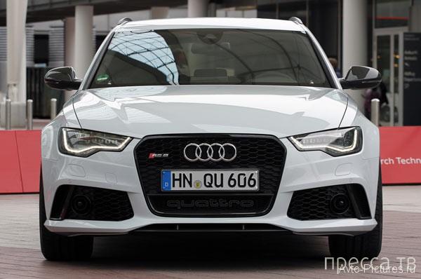 Новинки 2013 - Audi RS6 Avant (26 фото + видео)