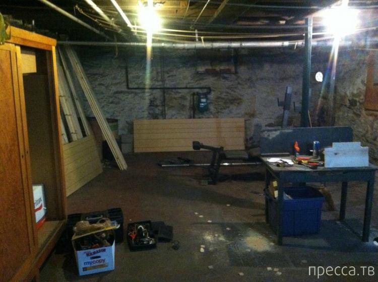 Тайник в подвале купленного дома (21 фото)