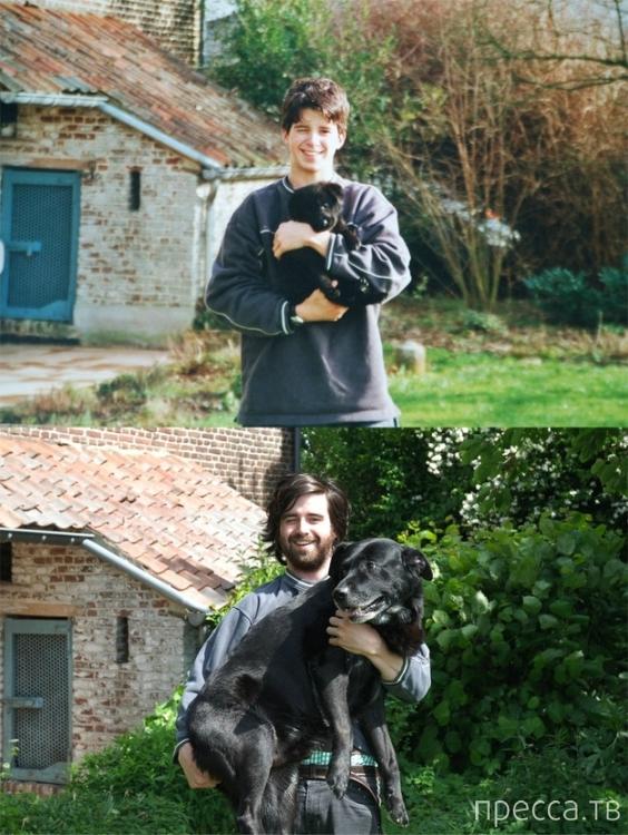 Выросли вместе... (11 фото)