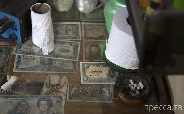 На Кубе татуировщики зарабатывают больше, чем доктора и адвокаты (6 фото)