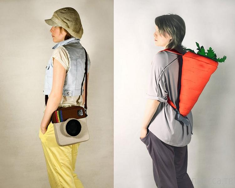 Очень необычные сумочки (28 фото)