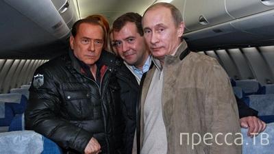 ОРТ закрыло передачу после шутки о разводе В.В. Путина (4 фото)