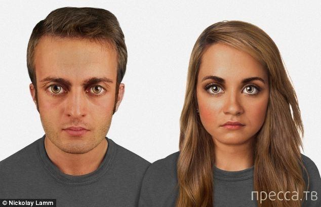 Как изменится внешность человека в будущем... (3 фото)