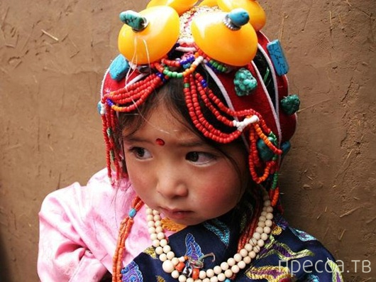 Тибетский взгляд на воспитание детей...