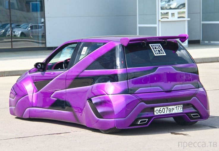 Космический тюнинг FIAT Punto (6 фото)