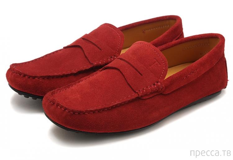 Откуда пошла мода на красный мокасин...