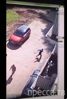Пьяный вредитель машин получил свое наказание... Каширское шоссе, Москва