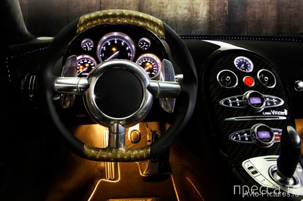 Самый дорогой Bugatti Veyron в мире (5 фото)