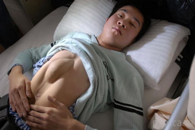 Хуанг Ронгминг (Huang Rongming) - парень с сердцем в животе...