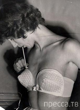Надувной бюстгальтер (1950-е) (4 фото)