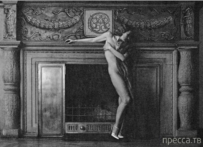 """Рената Литвинова в журнале """"Плейбой"""", 2000 год (6 фото)"""