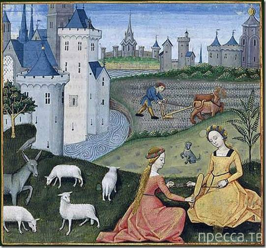 Интересные факты о сексе во времена Средневековья...