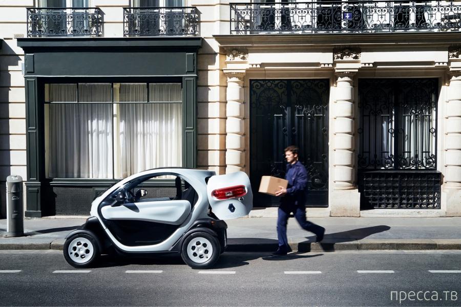 Renault Twizy Cargo. Почти грузовик (8 фото)