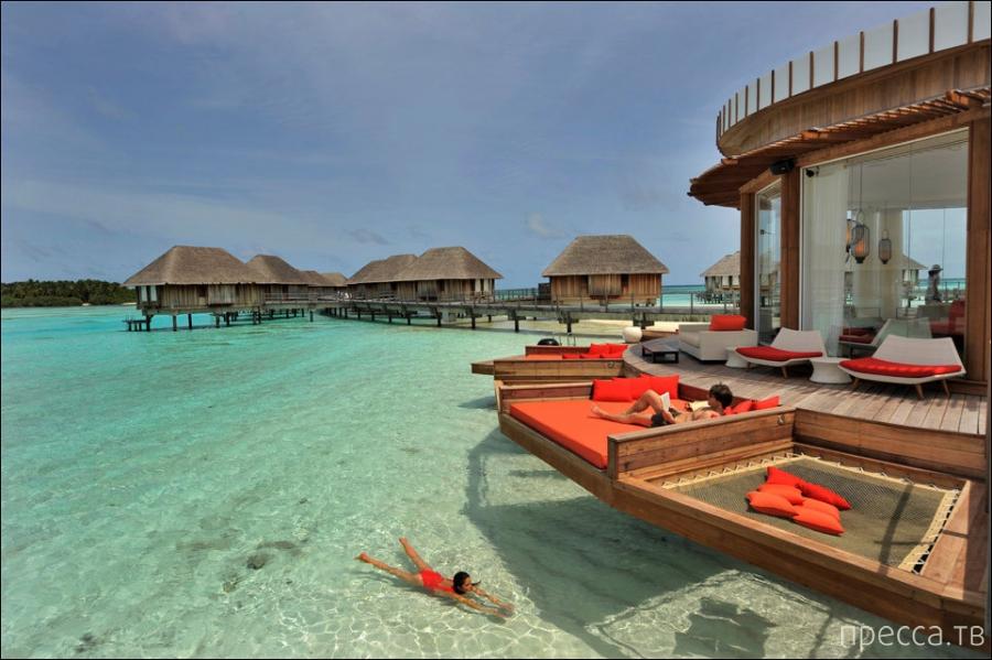 В самом деле - Рай на Земле! Мальдивские острова (12 фото)