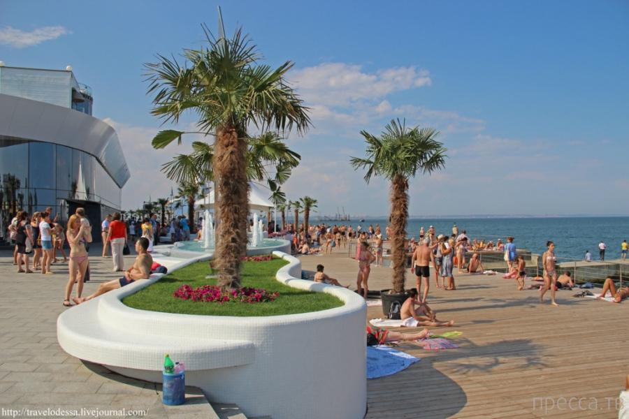 Украина. Одесса. Обновленная набережная на Ланжероне - самое популярное место в городе за последнюю неделю (11 фото)