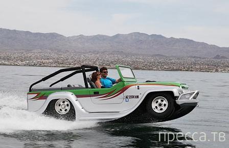 Parther - самый быстрый автомобиль-амфибия (5 фото)