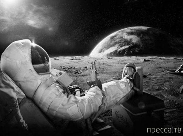 Сверхестественные ощущения у космонавтов...