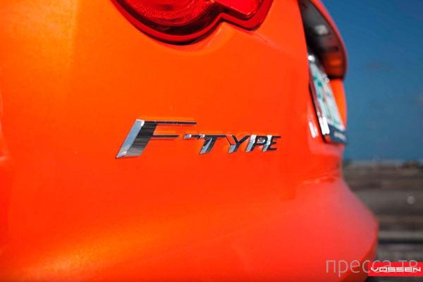 Jaguar F-Type V8 S с дисками Vossen (8 фото)