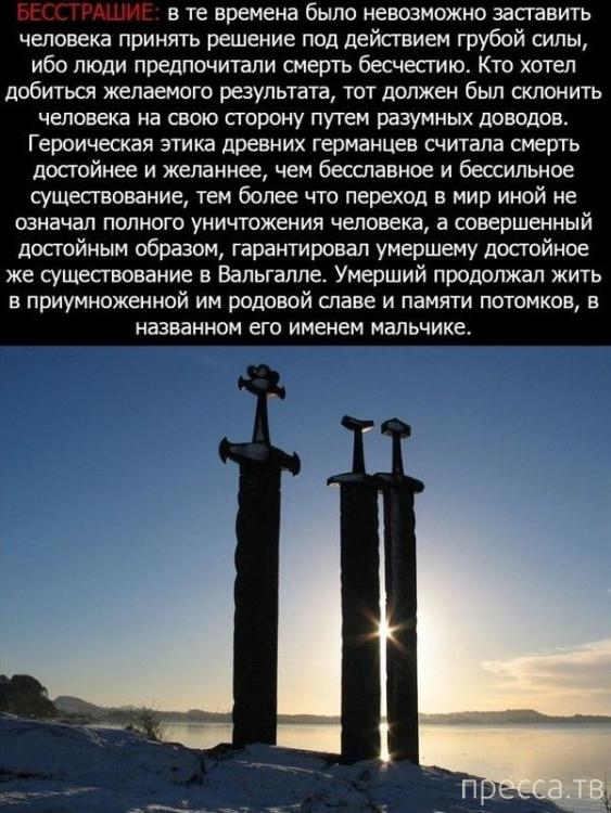 Интересные факты о викингах (12 фото)