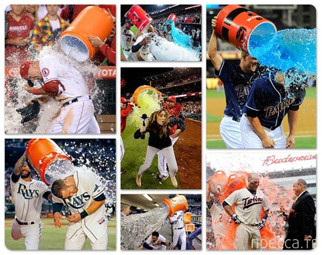 Ледяной душ победителям (20 фото)