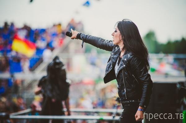 Рок-фестиваль «Нашествие-2013» (10 фото)