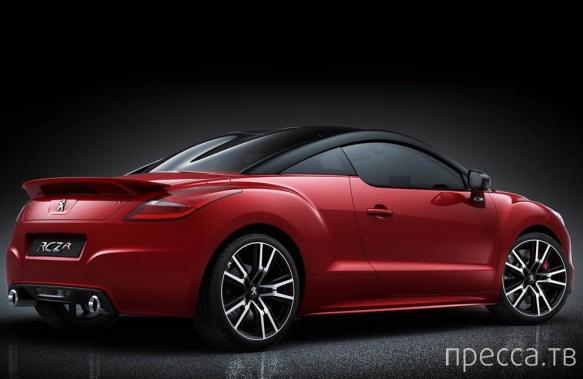 Официальная премьера Peugeot RCZ R (6 фото)