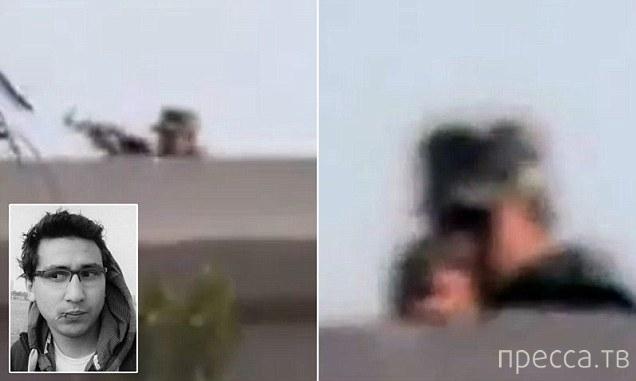 Египетский журналист запечатлел на видео собственную смерть (2 фото + видео)