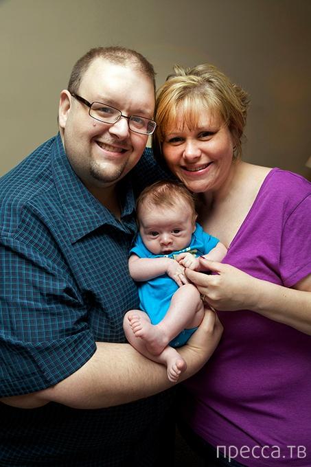 В США родился первый ребенок «из пробирки» (9 фото)
