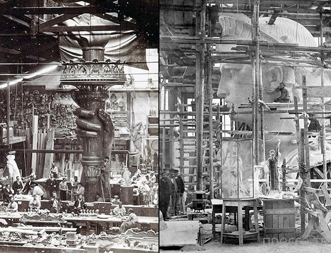 История Статуи Свободы (29 фото)