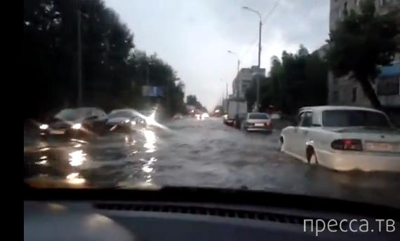 Тюменский потоп...