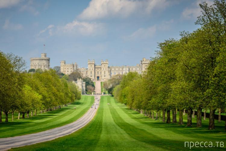 Ви́ндзор (Windsor) - город, где находится летняя резиденция английских королей (34 фото)